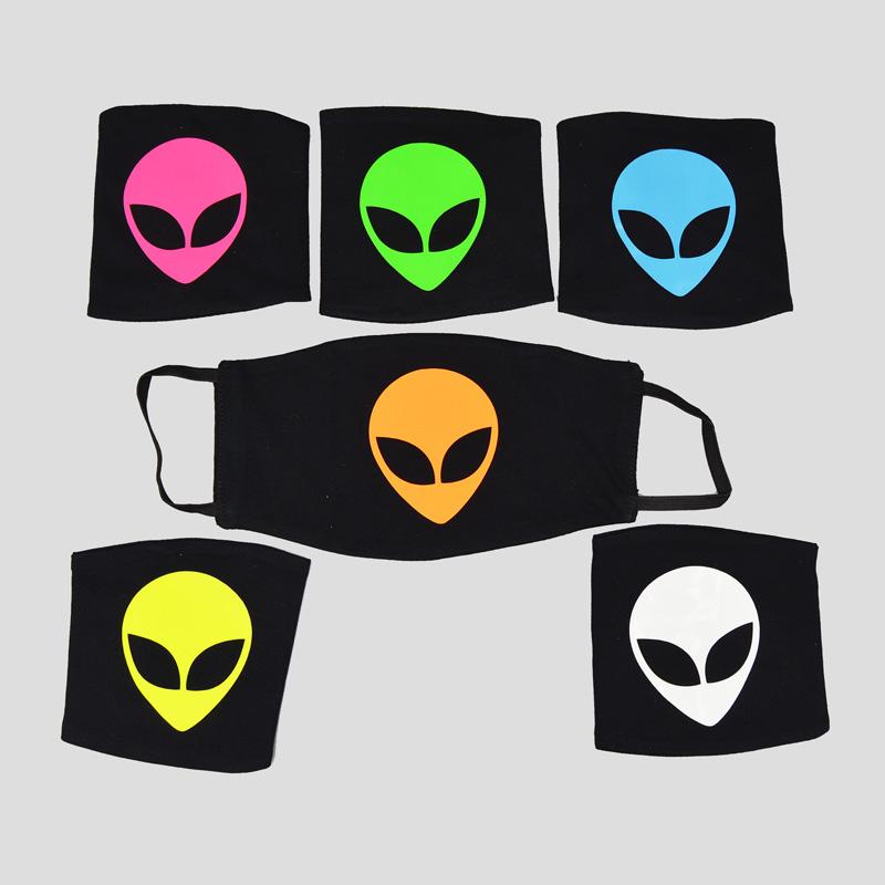 ماسک بلک لایت مدل Aliens کد Pmblk196